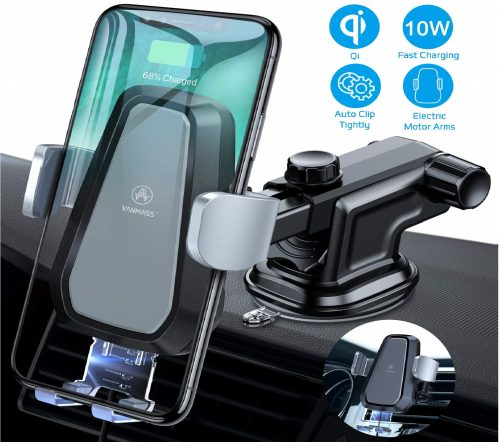 6.VANMASS-Wireless-Car-Charger-Mount-Automatic-Clamping-Qi-10W-7.5W-Fast-Charging-5W-Car-Mount-Windshield-Dashboard-Air-Vent-Phone-Holder-Compatible-with..