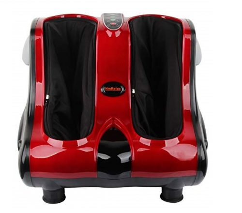 8.Shiatsu-Kneading-Rolling-Heating-Foot-Calf-Massager-Personal-Health-Studio-Leg-Beautician-red