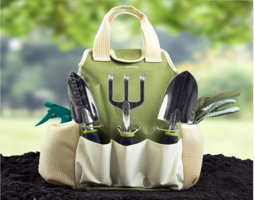 2.Vremi-9-Piece-Garden-Tools-Set-Gardening-Tools-with-Garden-Gloves-and-Garden-Tote-Gardening-Gifts-Tool-Set-with-Garden-Trowel-Pruners-and-More.