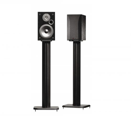 3.SANUS-BF31-B1-31-Speaker-Stands-for-Bookshelf-Speakers-up-to-20-lbs-Black-Set-of-2