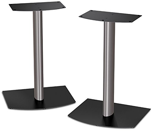 4.Bose-FS-1-Bookshelf-Speaker-Floor-Stands-pair-Black-and-Silver.