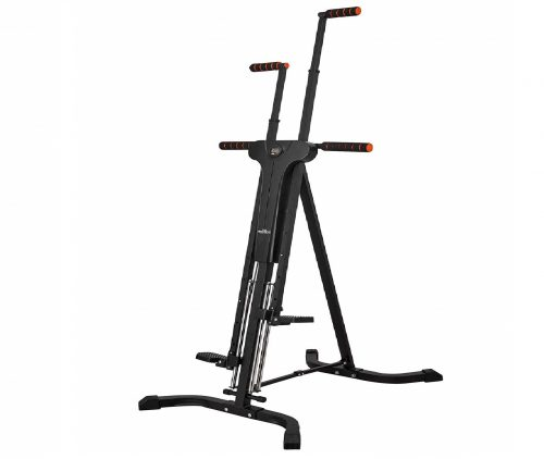 1.RELIFE REBUILD YOUR LIFE Vertical Climber for Home Gym Folding Exercise Cardio Workout Machine Stair Stepper Newer Version