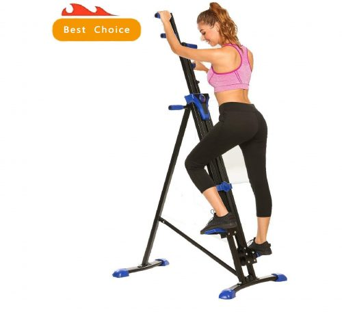 10.Miageek Vertical Climber for Home Gym Full Total Body Workout Folding Cardio Exercise Machine