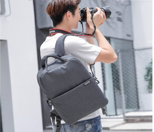 4.CADeN Camera Backpack Bag for DSLR SLR Waterproof w 14 Laptop Compartment, Tripod Holder, Rain Cover, Compatible for Sony Canon Nikon Mirrorless Cameras