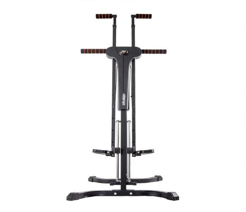 4.Merax Vertical Climber Exercise Folding Climbing Machine for Home Gym Folding Cardio Workout Machine
