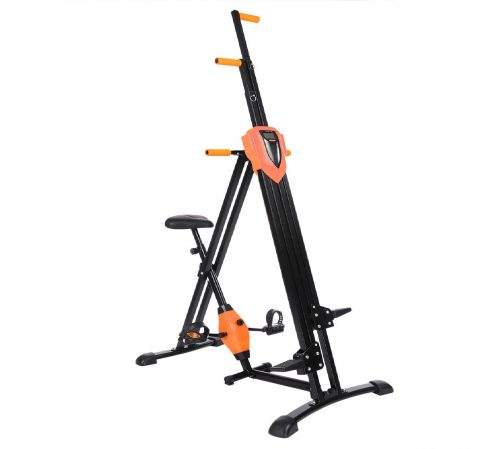 9.Flyerstoy Vertical Climber Cardio Exercise - Folding Exercise Climbing Machine,Total Body Workout Climber Machine for Home Gym, Exercise Bike for Home Body.