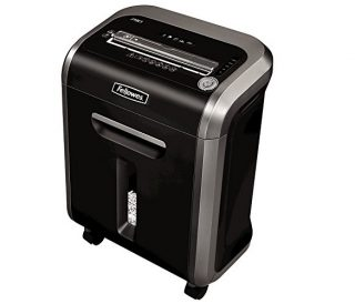1.Fellowes Powershred 79Ci 100% Jam Proof Medium, Duty Cross, Cut Shredder, 16 Sheet Capacity, BlackDark Silver