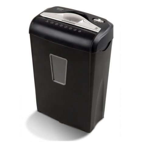10.Aurora AU870MA High-Security 8-Sheet Micro-Cut Paper Credit Card Shredder Black