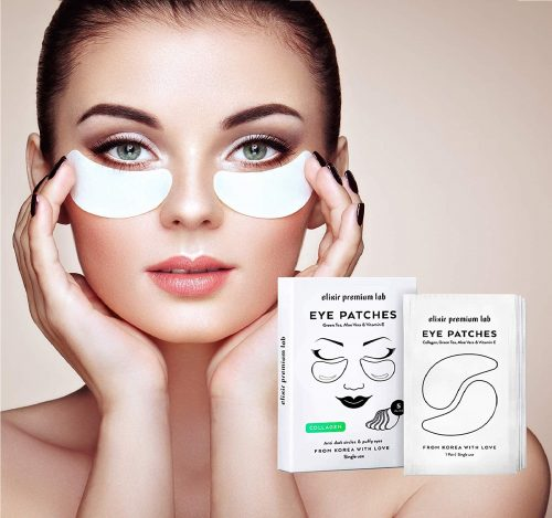 12.Collagen Eye Patches - Moisturizing Under Eye Pads - Anti Puffiness & Dark Circles Spa Treatment - Best Hydrogel Eye