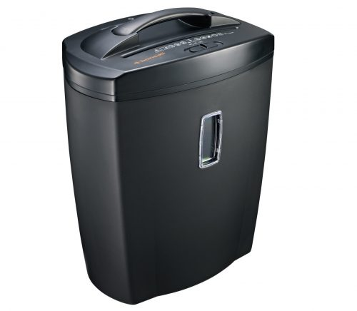 3.Bonsaii DocShred C156-D 12-Sheet Cross-Cut PaperCDCredit Card Shredder with 5.5 Gallon Wastebasket Capacity and Window