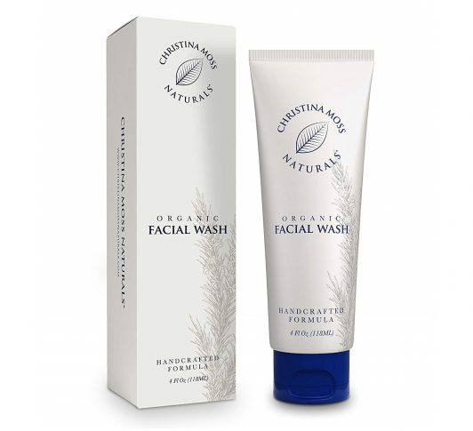 3.Face Wash - Facial Cleanser Made With Organic & Natural Ingredients - Skin Clearing Soap, Anti Blemish, Fights Acne, Non Drying