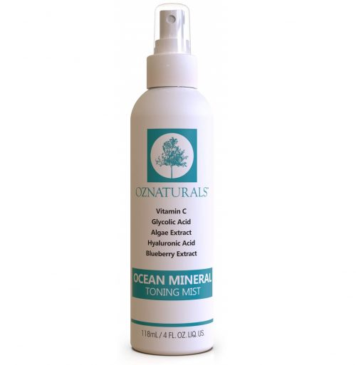 4. OZNaturals Facial Toner- This Natural Skin Toner Contains Vitamin C, Glycolic Acid & Witch Hazel