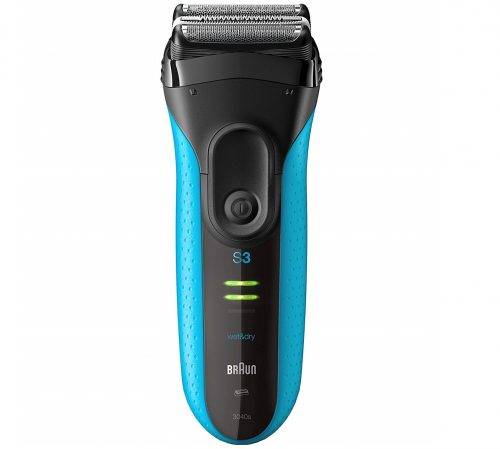 4.Braun Series 3 ProSkin 3040s Electric Razor for Men, Rechargeable and Cordless Electric Shaver, Wet & Dry Foil Shaver, Blue