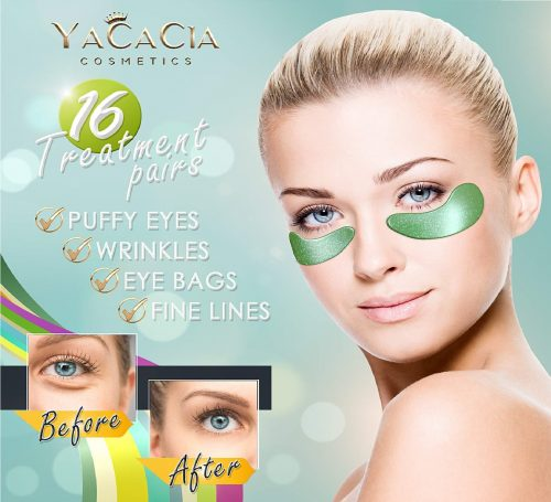 4.Magic Set Eye Mask Anti-Aging Patches HYALURONIC acid SNAIL SLIME Extract 24K GOLD Natural COLLAGEN Under Eye
