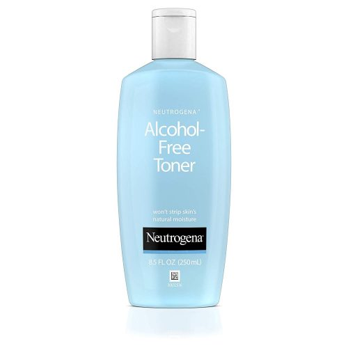 6. Neutrogena Oil- and Alcohol-Free Facial Toner, with Hypoallergenic Formula, 8.5 fl. oz