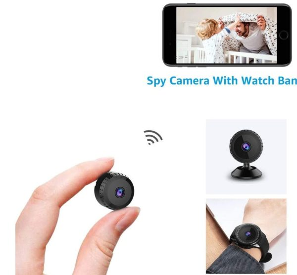 10. Spy Camera Wireless Hidden Wifi Cameras,AOBO 1080P HD Smallest Mini Security Camera