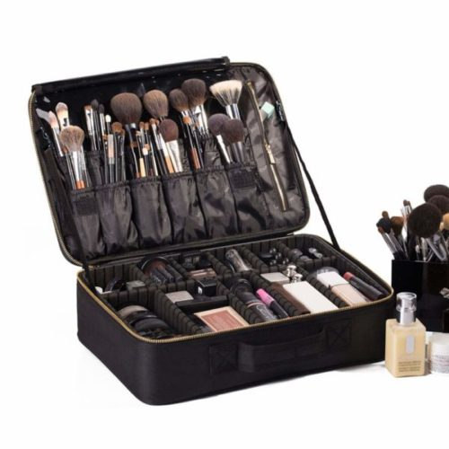 ROWNYEON Best Makeup Train Case Best Professional Makeup Kits