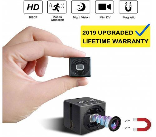 6.Mini Spy Camera cop cam HD 1080P Portable