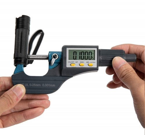 10.Digital Electronic Display Micrometer 0-1 0-25mm Gauge
