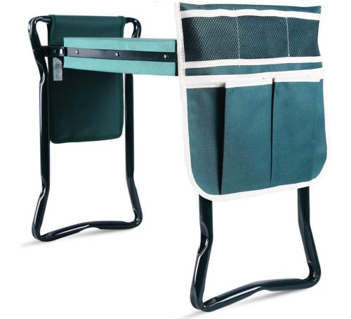 14.Upgraded Garden Kneeler and Seat with Thicken & Widen Soft Kneeling Pad