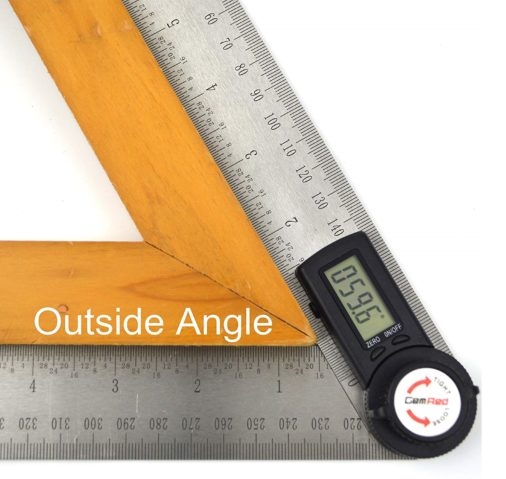 2.82305 Digital Protractor Angle Finder Stainless Steel Ruler