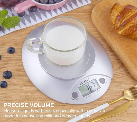 3.Digital Kitchen Food Scale and Multifunction Weight Scale