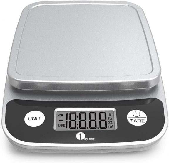 5.Digital Kitchen Scale Precise Cooking Scale and Baking Scale