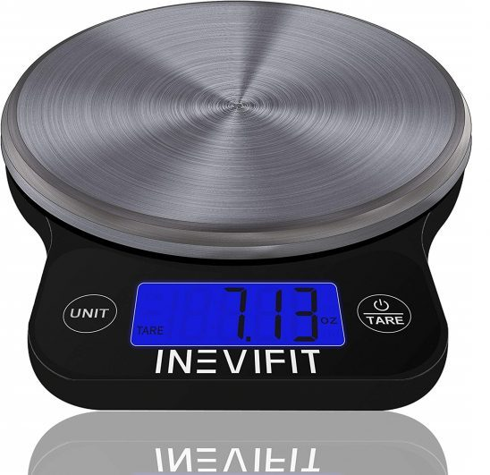 6.DIGITAL KITCHEN SCALE, Highly Accurate Multifunction Food Scale