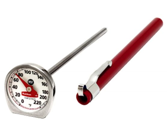 7.Commercial Products Food Meat Instant Read Thermometer, Pocket Size
