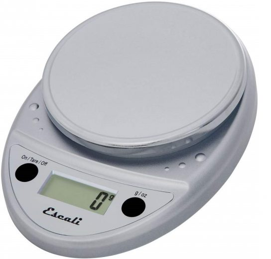 7.Primo P115C Precision Kitchen Food Scale for Baking and Cooking