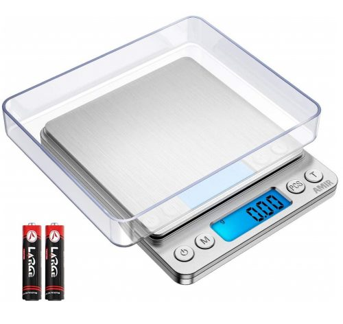 8.Upgraded Digital Kitchen Scale, 500g-0.01g Mini Pocket Jewelry Scale