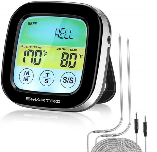 9.ST59 Digital Meat Thermometer for Oven BBQ