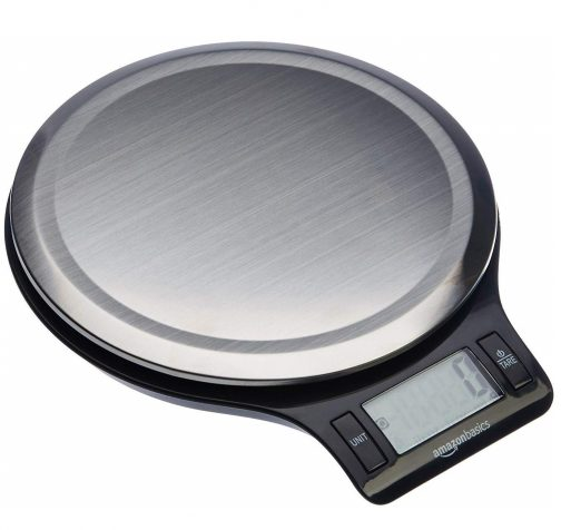 9.Stainless Steel Digital Kitchen Scale with LCD Display