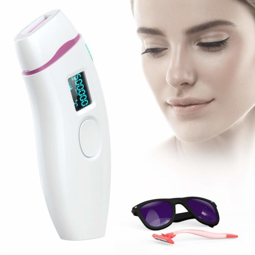 1.Hair Removal for Women, IPL Permanent Hair Remover System Device for Female Male Face Leg Body Home Use Device With Make-up Bag (White)