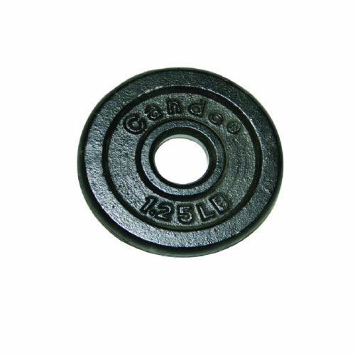 14.CanDo 10-0600 Iron Disc Weight Plate, 1.25 lb
