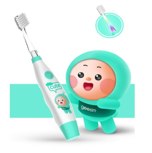 14.kids& Baby Toothbrush Electric Sonic Battery Powered With Smart Timer
