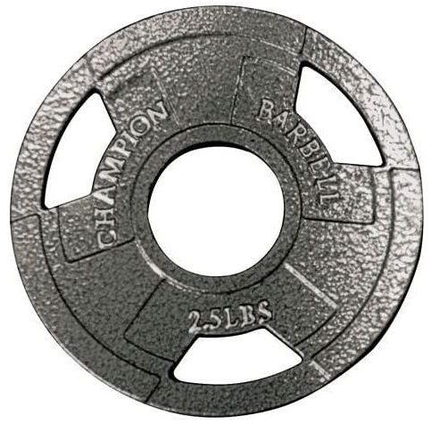 2.Champion Olympic Grip Plate