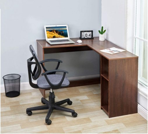 Coavas Writing Modern Wood Computer Desk Study Computer Table