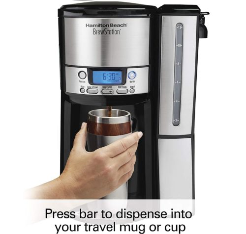1. Hamilton Beach 12 Cup Coffee Maker with Timer