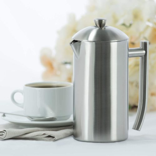10. Frieling USA French Press Stainless Steel Coffee Maker