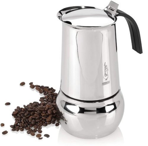 12. Bialetti Kitty Italy Espresso Stainless Steel Coffee Maker