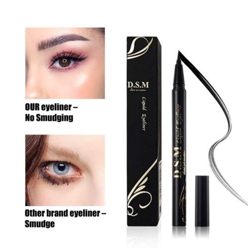 12.Waterproof Liquid Eyeliner Long Lasting&Smudgeproof Eye Liner 2 Packs Precise Eyeliner Pen