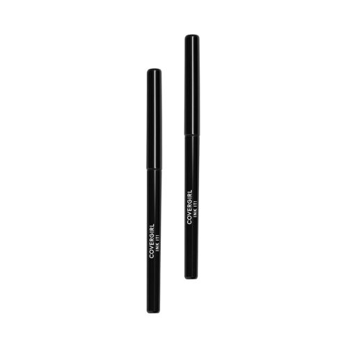 13.Covergirl Ink It! By Perfect Point Plus Waterproof Eyeliner, Black, 2 Count