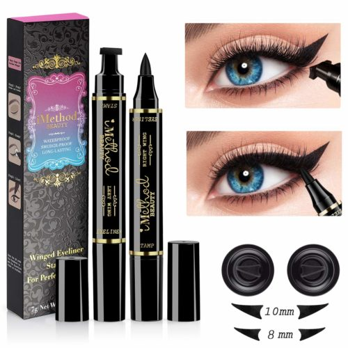 15.Eyeliner Stamp - iMethod 2 Pens Winged Eyeliner Stamp, Perfect Wing Cat Eye Stamp