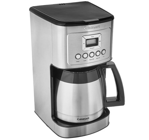 2. Cuisinart 12 Cup Coffee Maker Stainless Steel Thermal Coffee Maker