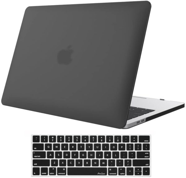 3. Hard Case Shell Cover and Keyboard Skin Cover for MacBook Pro 13
