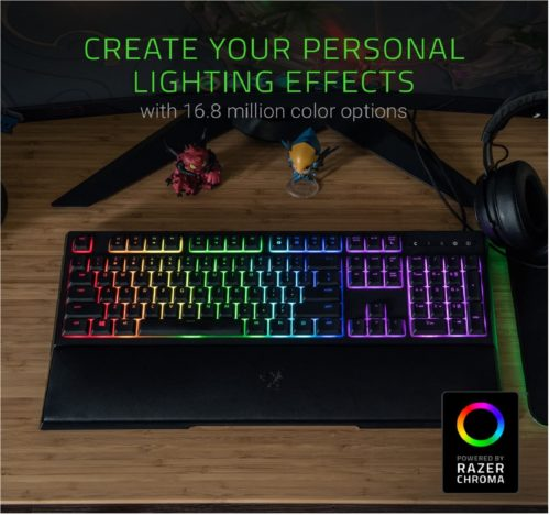 5. Razer Ornata Hybrid Quiet Mechanical Keyboard Key Chroma Backlit Keyboard