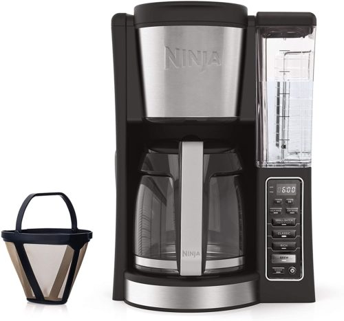 7. Ninja 12-Cup Programmable Coffee Maker with Classic and Rich Brews