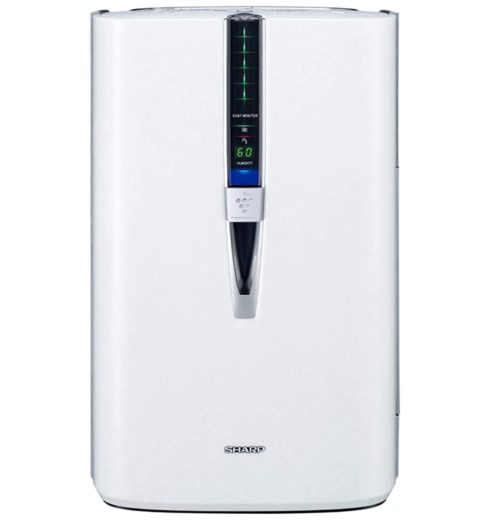 7. SHARP Air Purifier and Humidifier with Plasma Cluster