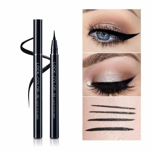 7.UCANBE Black Liquid Eyeliner Set 2 Pens Waterproof Long Lasting Eye Liner Smudgeproof